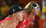 Foto: Samoilovs un Šmēdiņš Rio turnīru iesāk ar saspringtā mačā gūtu uzvaru