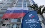 Rio norauj krievu karogu, vingrotāji dod atbildi nīdējiem