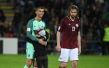 """Gorkšs: """"Jādara viss, lai šāda atmosfēra būtu ne tikai pret Eiropas čempioniem"""""""