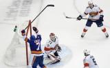 """""""Islanders"""" nonāk uzvaras attālumā no kvalificēšanās Stenlija kausa izcīņai"""