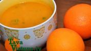 Fotorecepte: Apelsīnu un burkānu krēmzupa