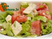 Fotorecepte: zilā siera salāti