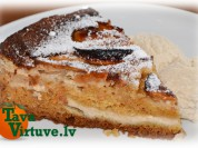 Fotorecepte: pēcpusdienas ābolu pīrāgs