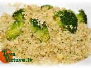 Fotorecepte: Kuskuss ar brokoļiem