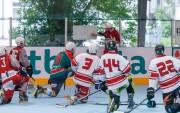 Foto: Latvijas inline hokeja izlase gatavojas IIHF pasaules čempionātam