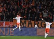 Pārbaudes spēles: Nīderlande uzveic Spāniju, Itālijai neizšķirts ar Angliju
