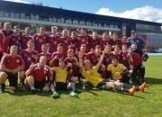 U17 futbolisti triumfē Baltijas kausa izcīņā