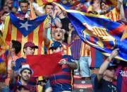UEFA ierosina disciplinārlietu par Katalonijas karogu lietošanu Čempionu līgas finālā