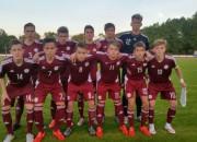 Latvijas U-17 izlase piekāpjas Luksemburgai