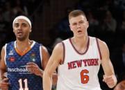 Porziņģim divi precīzi tālmetieni un uzvara pirmajā NBA pārbaudē