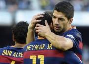 """Neimārs, Svaress un Mesi iesit """"Barcelona"""" uzvarā, trīs punkti arī """"Atletico"""""""