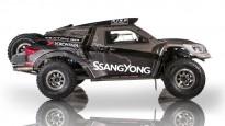 """""""SsangYong"""" rūpnīcas komanda prezentē iespaidīgo Dakaras auto"""