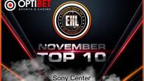 Entuziastu Hokeja Līgas novembra TOP 10 video momenti