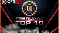 Entuziastu Hokeja Līgas februāra TOP 10 video momenti