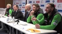 Kamaniņu sportisti Siguldā centīsies uzkrāt pozitīvās emocijas pirms PČ