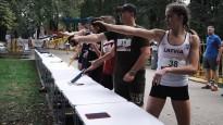 """""""Global Laser Run"""": Rīgas centrā skrien, pielādē un šauj"""