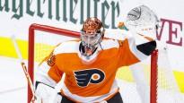 """NHL atvairījumu topā triumfē """"Flyers"""" vārtsargs"""