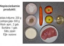 Fotorecepte: Liellopu gaļas veltnīši ar āboliem