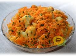 Fotorecepte- burkānu un ziedkāpostu salāti