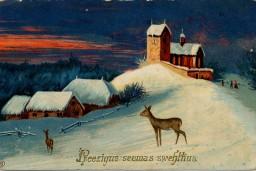 Aicina dāvināt Ziemassvētku un Jaunā gada apsveikuma kartiņas