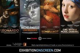 Latvijas Nacionālais mākslas muzejs iesaka: pasaules mēroga izstādes uz lielā ekrāna