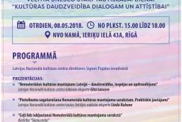 Aicinām uz diskusiju par nemateriālo kultūras mantojumu Latvijā