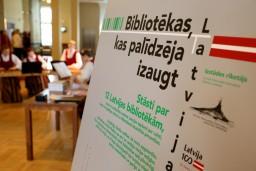 """Uz Salacgrīvu ceļo izstāde """"Bibliotēkas, kas palīdzēja izaugt Latvijai"""""""