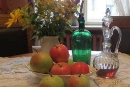 """Aleksandra Čaka memoriālajā dzīvoklī–muzejā  izstāde """"Lieluma ābolā kodējs"""""""
