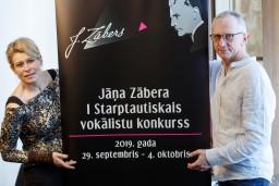 Tiek izsludināts Jāņa Zābera I Starptautiskais vokālistu konkurss