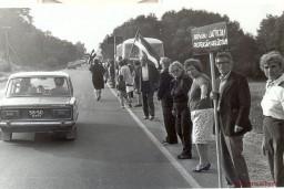 """Baltijas ceļa """"Gadsimta albums"""" papildināts ar 213 jauniem attēliem"""