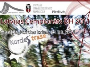 Latvijas Downhill čempionāts 21. augustā Siguldā