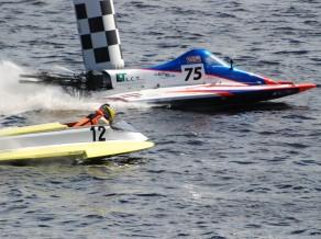 Jūrmalā noskaidroti Latvijas čempionāta 1. posma labākie ūdens motosportā