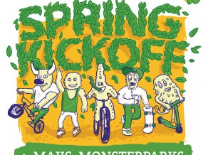 """4. maijā """"Monsterparkā"""" norisināsies """"Spring Kickoff 2013"""""""