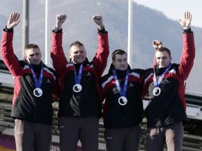 Melbārža četrinieks izcīna olimpisko spēļu sudrabu!