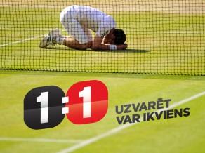"""Konkurss: """"Vimbldonas"""" tenisa spēlē kopā ar viensviens.lv"""