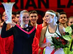 WTA teniss Budapeštā atgriežas ar ungārietes Babošas triumfu