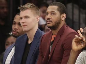 """Porziņģis par izlaisto """"Knicks"""" sapulci: """"Nav īstais brīdis par to runāt"""""""