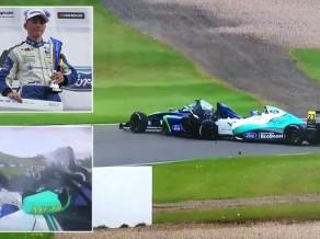 F1 braucēji aicina palīdzēt smagā negadījumā cietušajam F4 pilotam