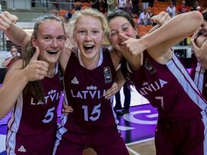 U16 meitenēm cīņa par pirmo Eiropas finālu