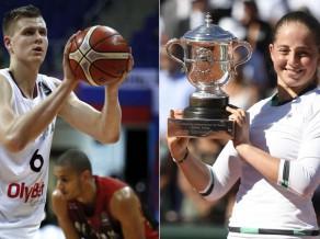 Latvijas gada sportistu balvas iegūst Porziņģis un Ostapenko