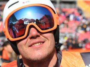 """Kalnu slēpotājs Zvejnieks: """"Šīs bija manas veiksmīgākās olimpiskās spēles"""""""