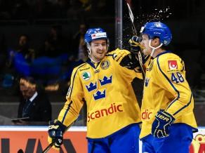 Zviedrija komfortabli apspēlē dāņus, austrieši revanšējas Itālijai