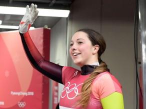 Pasaules junioru čempione skeletonā Fernštate negaidīti liek punktu karjerai