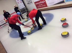 Nedēļas nogalē turpināsies cīņa par Latvijas čempiona titulu jauktajām kērlinga komandām