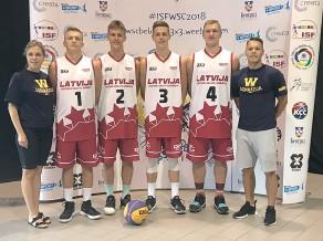 Ventspils 3x3 basketbolisti izcīna 9. vietu pasaules skolu čempionātā