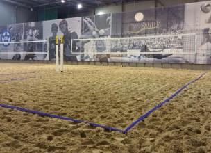 Rīgā darbu uzsākusi vēl viena pludmales volejbola halle