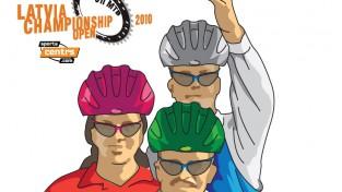 Sportacentrs.com Open 6h MTB brauciena trase iezīmēta