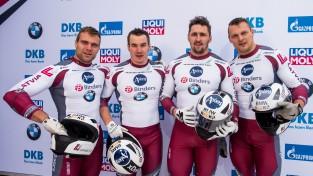 Latvijas bobslejisti olimpiskās medaļas saņems Siguldā