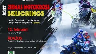 Latvijas čempionāts skijoringā un ziemas motokrosā dodas uz Ādažiem