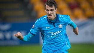 """Lemajičam skaists vārtu guvums, """"Riga FC"""" turpina cīņu par """"SynotTip"""" Virslīgas zeltu"""